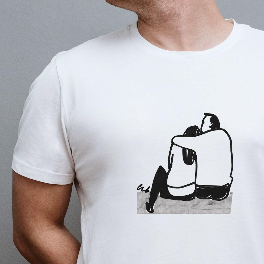koszulka z nadrukiem asuspl